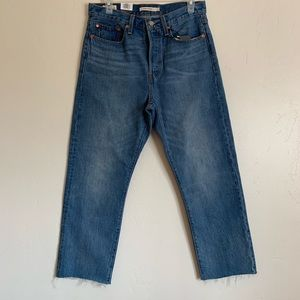 Levi's High Rise Wedgie Straight Jeans